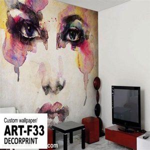 پوستر3بعدی طرح نقاشیب پروان دکور (1)