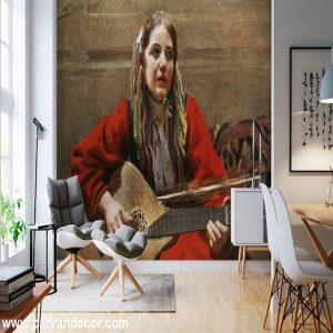 پوستر3بعدی طرح نقاشیب پروان دکور (10)
