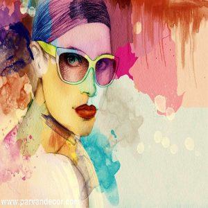پوستر3بعدی طرح نقاشیب پروان دکور (103)