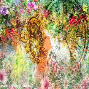 پوستر3بعدی طرح نقاشیب پروان دکور (167)