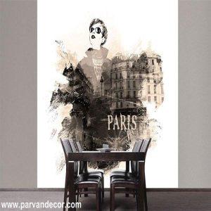 پوستر3بعدی طرح نقاشیب پروان دکور (78)
