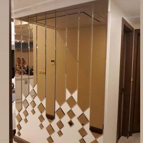 نمونه آینه پازلی