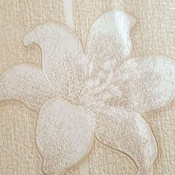 گل کرم کاغذ دیواری