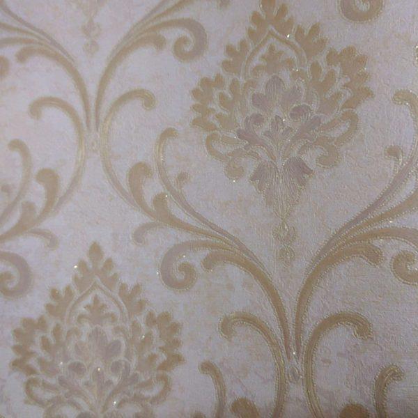 کاغذ دیواری پذیرایی داماسک