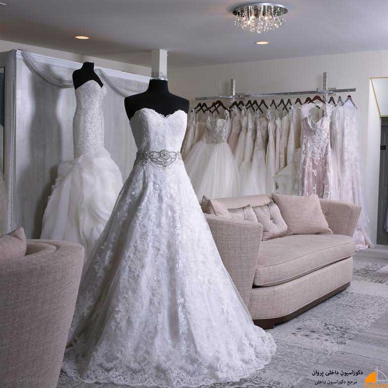 اهمیت طراحی و دکوراسیون داخلی مزون لباس