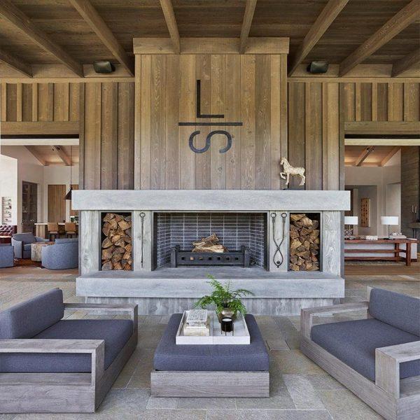 دکوراسیون داخلی خانه با چوب